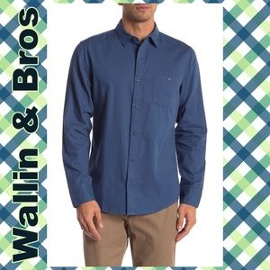 Wallin & Bros Long Sleeve Bedford Shirt